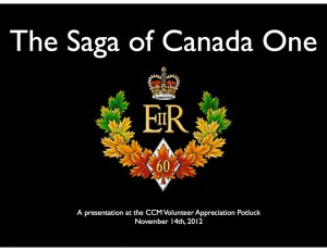 The Saga of Canada One