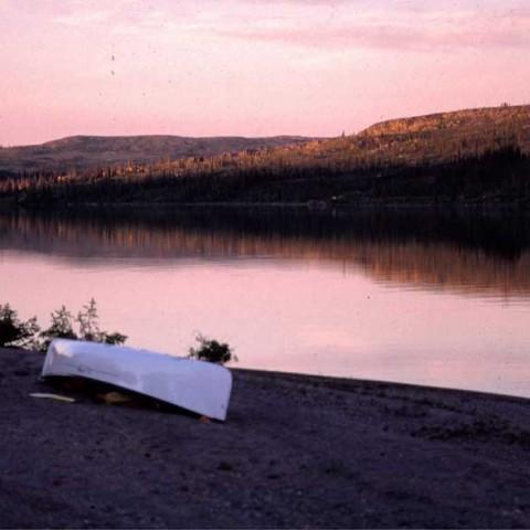 Below Redrock Lake NWT