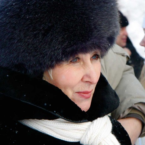 Blue Eyes Fur Hat