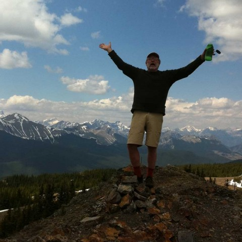 Buffalo Head Mountain near Calgary