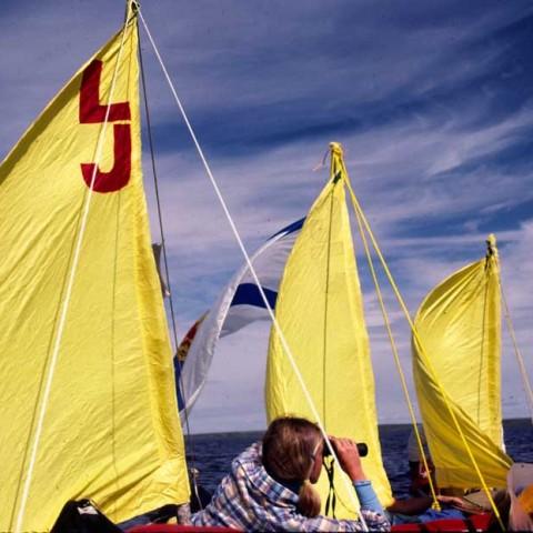 Burnside Sailing on Aylmer Lake