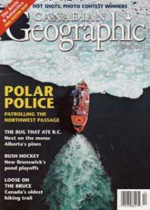 Canadian Geographic Polar Police Cover