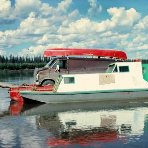 Eight Mile Joe's Peel River Ferry