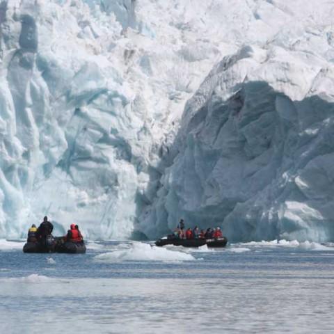 Glacier Southern Greenland