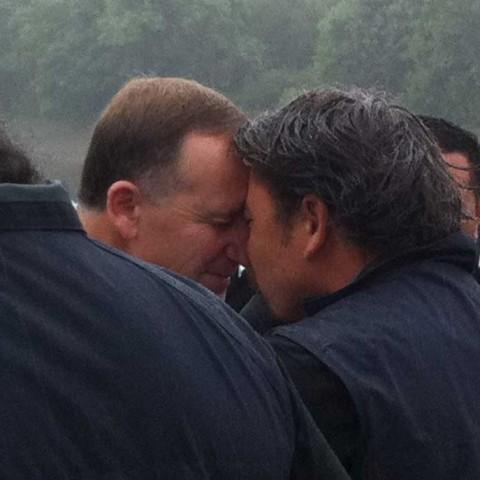 Hongi NZ Prime Minister Day