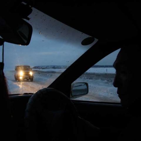 Ice Road Lena River
