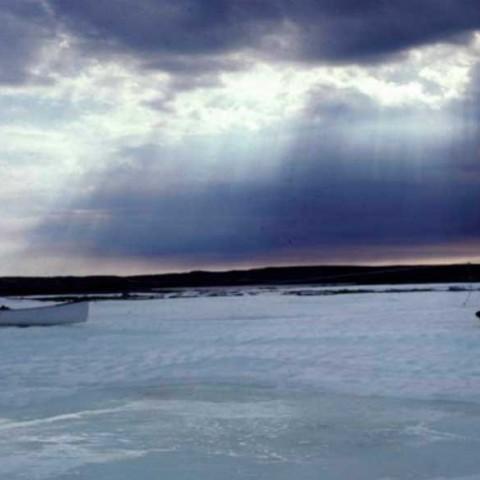 Icy River Portage