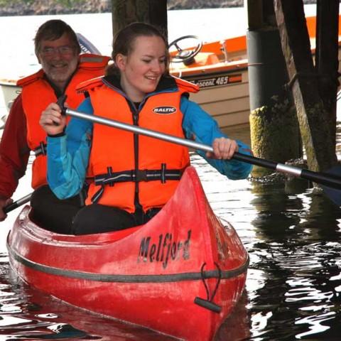 Ingrid on the water Norway