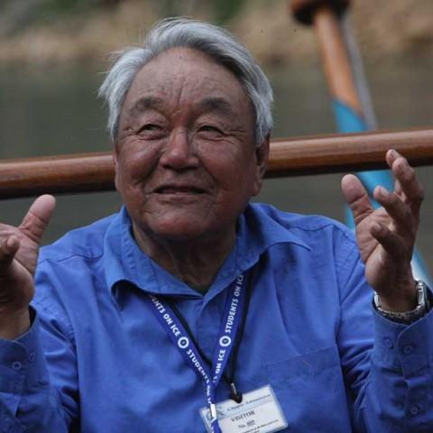 Innu Elder in the Torngats
