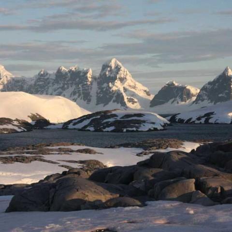 Koerner Ice Cap Antarctic Peninsula