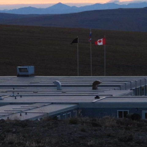 Kupol Gold Mine Chukotka