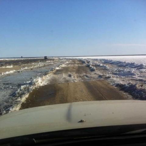 Lena River Ice Road
