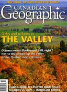 Canadian Geographic - The Valley cover
