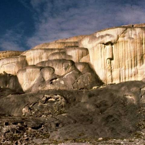 Nahanni River Tufa Mounds
