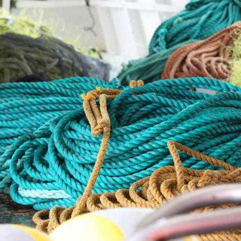 On deck aboard Nunni