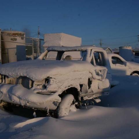 Parked! in Shishmaref Alaska