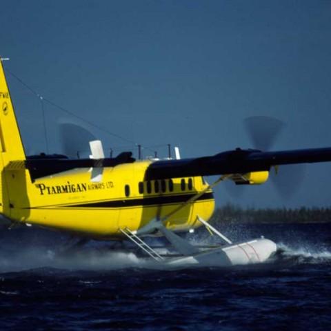 Ptarmigan Twin Otter Taking Off