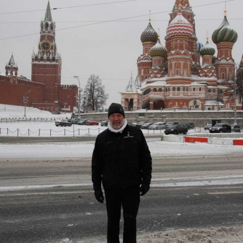 Red Square enroute to Siberia