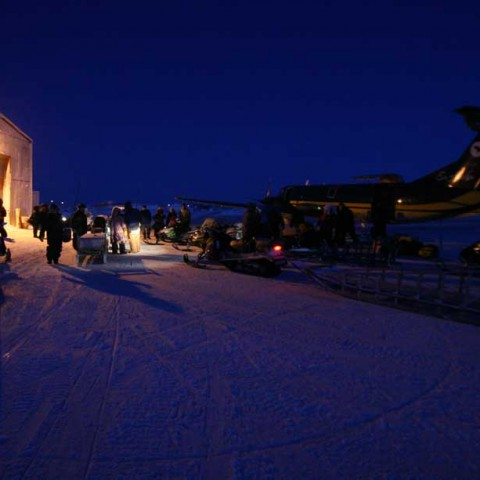 Shishmaref Alaska Airstrip