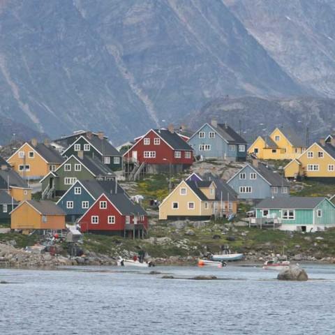 Suburbs-Nanortalik-Greenland