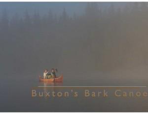 Buxton's Bark Canoe