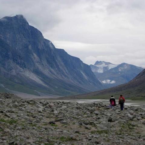 Akshayuk Pass Baffin Island