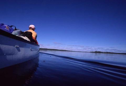 Coppermine Jake Canoe Low Angle