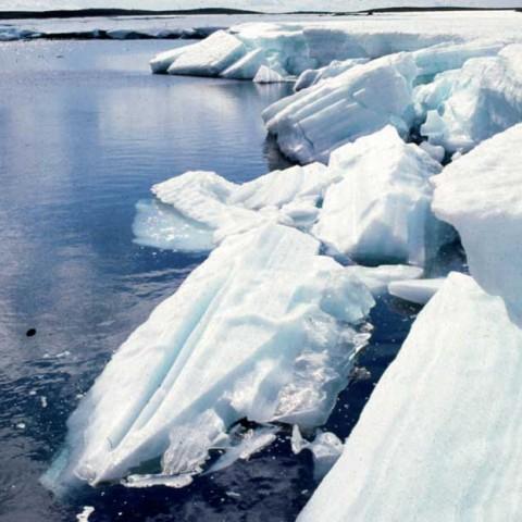 Icy River Nunavut