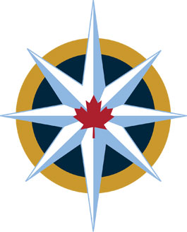 Royal Canadian Geographical Society compass rose