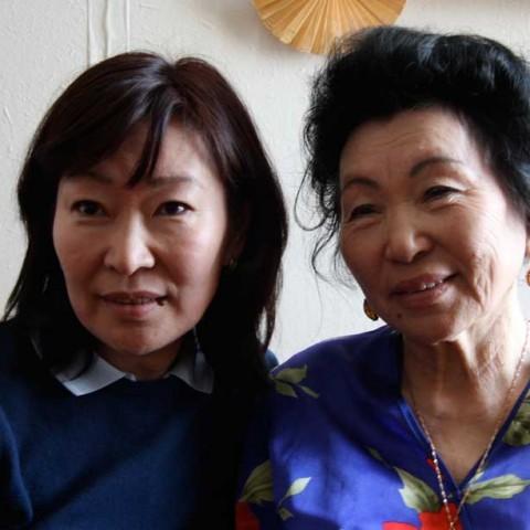 Olga and Her Mom Lena River