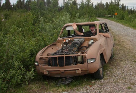 Rental Car Northern Sweden