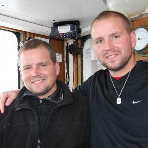 Twin Fishermen Iceland Suafar Bjarni