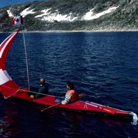 Wager Bay Doubles Kayak Sailing