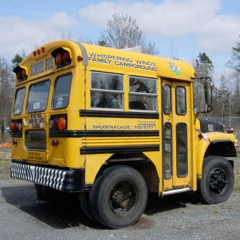 World's Briefest School Bus