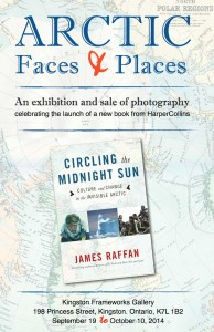 Poster for Arctic Faces & Places